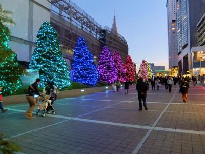 新宿パークタワー 都庁展望室から 輝く新宿ミナミルミへ 上