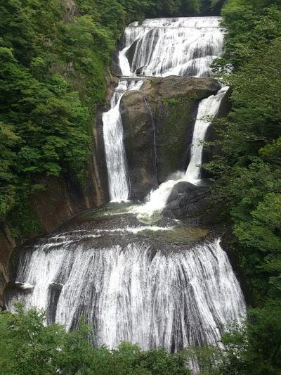 水戸、水郡線と袋田の滝
