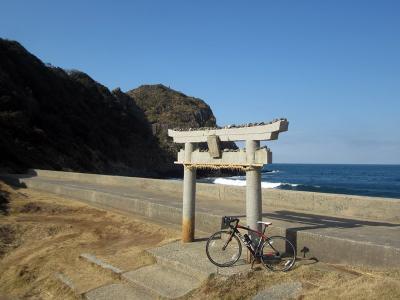 糸島半島ポタリング(芥屋の大門編)