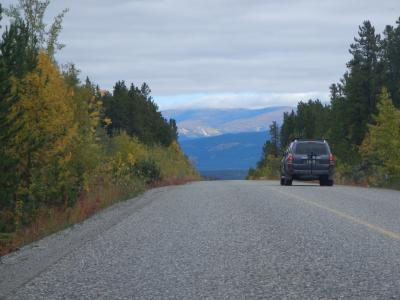 カナダ・ホワイトホースの旅(2日目):ようやく晴れ、歩くぞ!