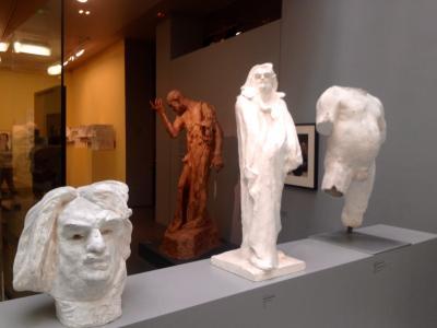 雨のロダン美術館 2014年12月
