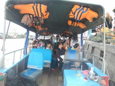 東南アジア1か月の旅 ベトナム編⑥メコンデルタツアー②カント―2014・12・19