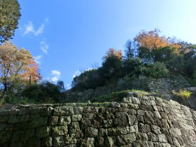 こんなところにあった雲海の城(苗木城跡)