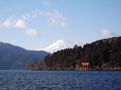 富士山を眺めに箱根・伊豆をドライブ