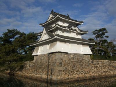 2014年末は香川~愛媛城巡りへ ①初香川県上陸で日本三大水城 高松城を見に行く