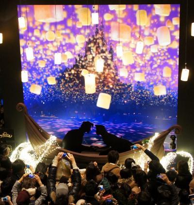 クリスマスイルミネーション 銀座から東京駅へ
