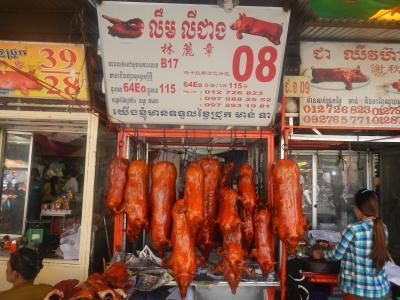 東南アジア1か月の旅 カンボジア編②プノンペンを歩く2014・12・22~23