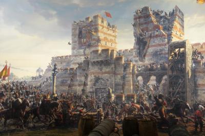 コンスタンチノープルの陥落 パノラマ1453歴史博物館