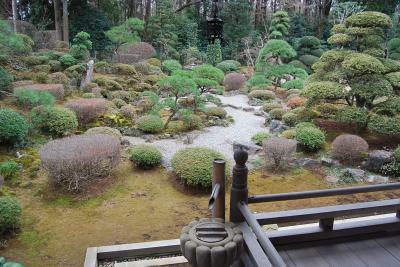 2015年多福寺へ初詣に行き奥庭を見る