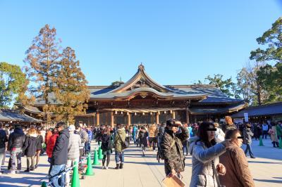 初詣は日本最強?の寒川神社へ