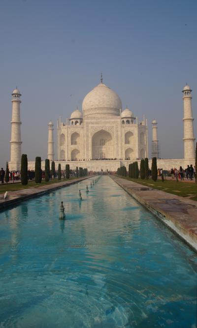 濃霧のインド旅行