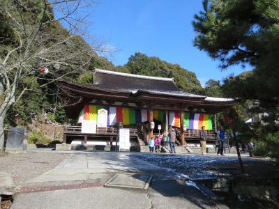 家族で行く初詣☆長弓寺・善修寺・素戔嗚神社☆雪が積もったおかげで、ゆっくり拝観できました♪