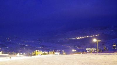 石打丸山でスキー~1日目