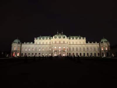 年末ウィーン② シェーンブルン宮殿とヴェルヴェデーレ宮殿上宮