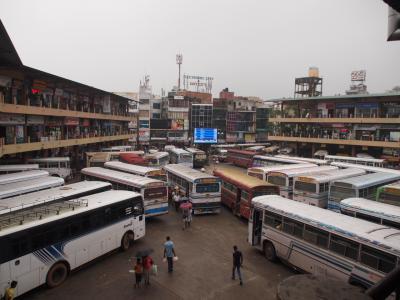 スリランカ02 バンダラナイケ国際空港到着~ニゴンボからバスでダンブッラへ