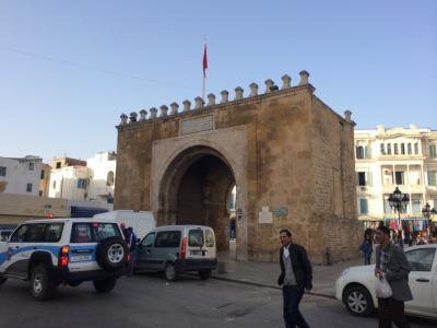 梅の湯から始まるチュニジア旅行記2014-その37-チュニス旧市街散策とバルドー博物館見学編