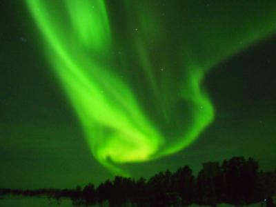 オーロラを求めてフィンランドへ!その4 オーロラツアーに参加、そして遂に・・・!