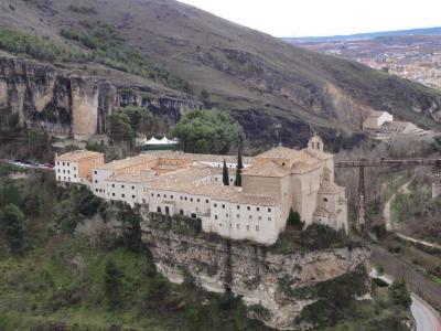 8度目のスペイン(夏へのオマージュ)クエンカ「Parador <Convento de San Pablo>」