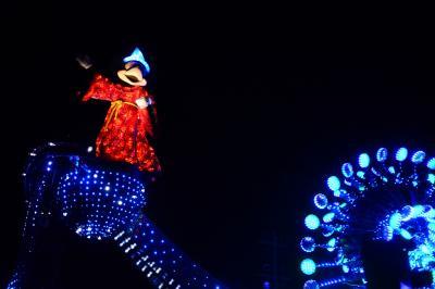 香港7★誕生月ディズニー★香港ディズニーランドで遊ぶ♪Day2~夜のパレード~