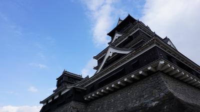 熊本城はやっぱり美しかった。【Kumamoto】