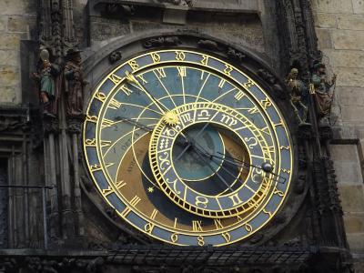 2014年12月プラハ(08) 王の道と天文時計