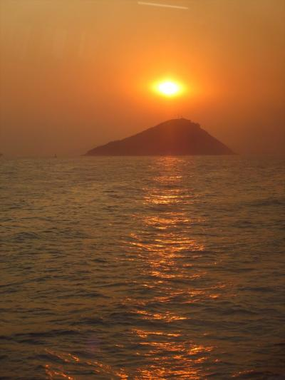 香港ちょっとだけ離島1★夕暮れ時…どの島行こう?