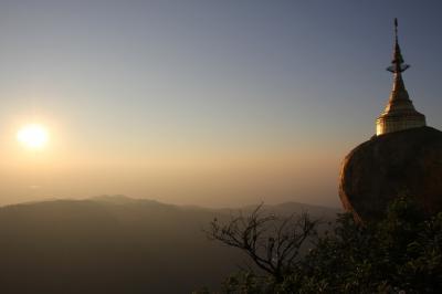 「Haruka in Myanmar (+ Thailand)」vol.9 Jan 3 ~チャイティーヨー(ゴールデンロック)を目指して~