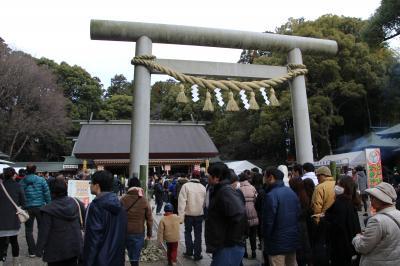 元旦は常磐神社で初詣