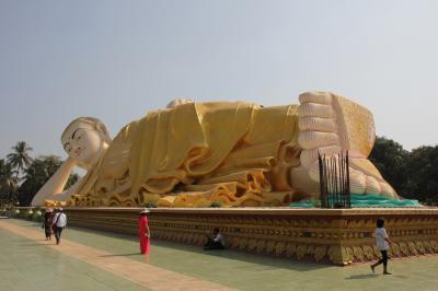 「Haruka in Myanmar (+ Thailand)」vol.10  Jan 4(前編) ~チャイティーヨー&バゴー観光~