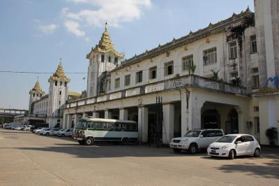「Haruka in Myanmar (+ Thailand)」vol.13 Jan 5(前編) ~ヤンゴン散歩~