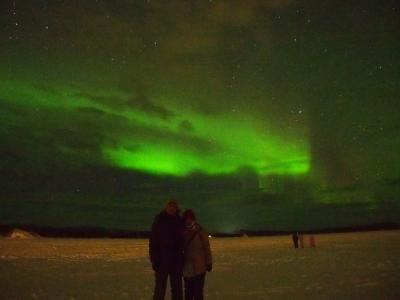 オーロラを求めてフィンランドへ!その6 小さな町イナリでオーロラを待つ!