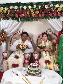 インドの結婚式(国際結婚) ~なみか母さんケララへ~