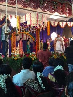 インドの結婚式 1800分の3の日本人 ~なみか母さんケララへ~