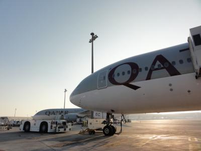 年末年始パタゴニア 碧い氷河とトレッキングの旅(1) カタール航空で行くアルゼンチン ブエノスアイレスまで約30時間のロングフライト