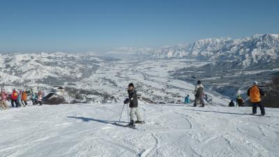 石打丸山でスキー~2日目