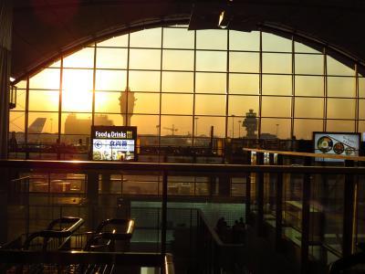 モルディブとドバイでハネムーン01★深センから香港空港へ