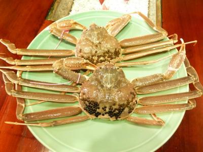 蟹・カニ・かに・Crab 冬の味覚のKing of Kings と対決よ~\(^o^)/ ~丹後半島奥伊根~