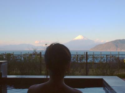 熱海・伊豆~良いお宿巡り+SPAの旅~富士山を望む宿 富岳群青~