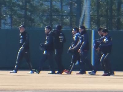 2015年最初の三連休・・・・・①浦和球場へ新人合同自主トレ見学