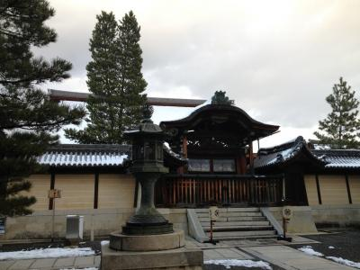 雪のお正月 ~初詣帰りに妙心寺をお散歩~