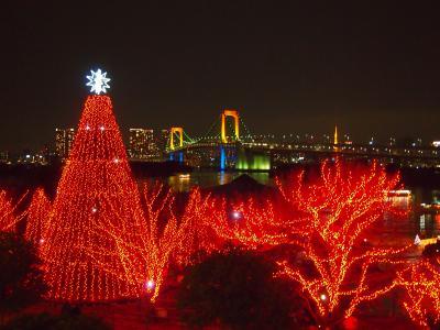 1泊2日 東京冬旅 [お台場夜編]