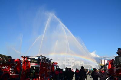 消防出初式を見て来ました 2015.01.11