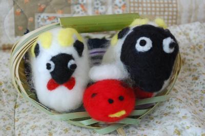 「羊を作ろう」ワークショップに参加(東京)