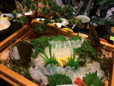 年末年始は熊本&長崎で過ごす。その1☆【長崎前編】お肌すっべすべの小浜温泉。旅館山田屋へ。美味しい皿うどんを食べ、雲仙地獄を観光します。