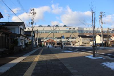 北陸新幹線開通前に駅を散策で日帰り旅