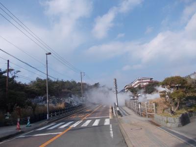 2014年末 九州北部湯めぐりツーリング(2) ~植木、雲仙、島原、小浜~