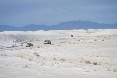 サンタフェでのスキーとニューメキシコ州の国立公園⑤ ホワイトサンズ