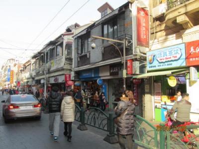 上海英租界の福建中路・歴史建築