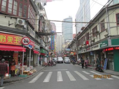 上海英租界の貴州路・歴史建築