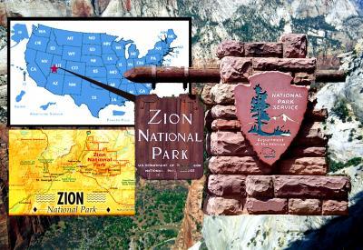 感動のザイオン国立公園とブレイスキャニオン国立公園ハイキング=Zion編=